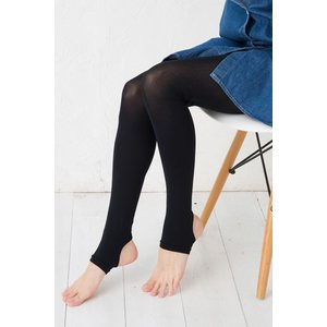 Tuche Cool トレンカ 吸水速乾素材 ブラック 黒 (50デニール相当・冷感加工・UV対策) レディース グンゼ トゥシェ|bisokuhanamai