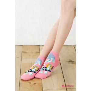 童話ソックス 不思議の国のアリス (全3色 青・水色・ピンク)|bisokuhanamai