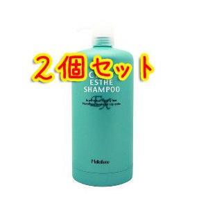 モルトベーネ クレイエステEX シャンプー用カートリッジ 1000mlサイズ (空ボトル/空容器) × 2個セット|bisousinka