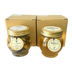 (送料無料)マイハニー ナッツの蜂蜜漬け エトワール 200g + アカシアハニー 200g セット 小箱付き(1個入り×2個)|bisousinka
