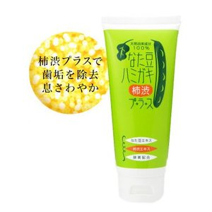 (送料無料)なた豆ハミガキ 柿渋プラス 150g|bisousinka