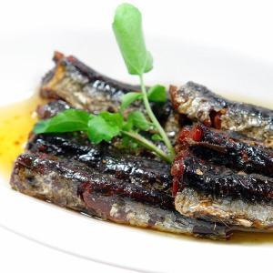 平松食品 TERIYAKI FISH いわし甘露煮おりぃぶ油漬 三河つくだ煮(甘露煮) ご飯のお供 惣菜 bisyoku