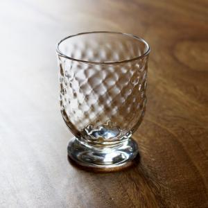 Tomonori  EGAWANO 江川野智典 ハンドメイド ガラス酒器 ダイヤモンド 冷酒グラス ぐい呑 冷酒杯 ギフト おしゃれ|bisyukiya