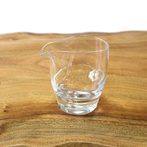 Tomonori  EGAWANO 江川野智典 ハンドメイド ガラス酒器 surface (サーフェス) 片口 冷酒器 ギフト おしゃれ|bisyukiya