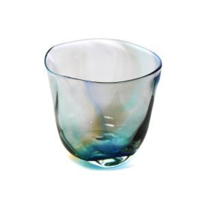 glass calico グラスキャリコ ハンドメイド ガラス酒器 ミナモearth (ミナモアース) ロックグラス ウイスキー 焼酎 カクテル グラス|bisyukiya