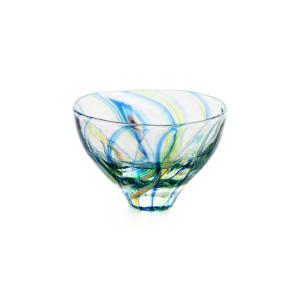 SAIZOU GLASS LABO サイゾウグラスラボ ハンドメイド ガラス酒器 Lotus (ロータス) ぐい呑 冷酒器|bisyukiya