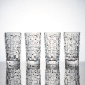 ナハトマン ボサノバ ロングドリンク グラスセット (4個入) ウイスキー 焼酎 ソフトドリンク グラス Nachtmann 正規品 ギフト おしゃれ|bisyukiya