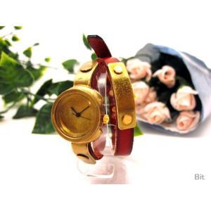 レディース 手作り腕時計 JHA ハンドメイドリストウォッチ [Choi×Choi]|bit