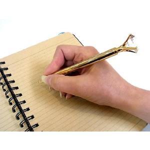 ボールペン 10カラット ゴールド 10CT Gold Ballpoint pen あすつく|bit|02