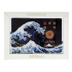 パスポートカバー パスポートケース 青富士 あおふじ Passport cover AOFUJI あすつく|bit|03