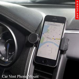 カーベントフォンマウント Car Vent Phone Mount Kikkerland あすつく|bit