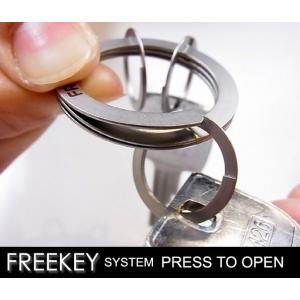 キーホルダー キーリング フリーキー Free key あすつく|bit