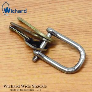キーリング メンズ カラビナキーホルダー ウィチャード ワイドシャックル WICHARD WIOE SHACKLE あすつく|bit