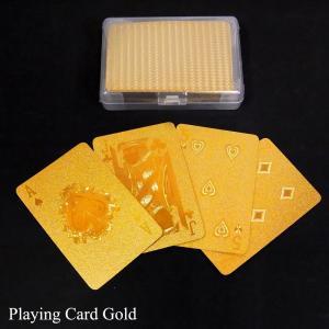 トランプ ゴールドプレイングカード Gold playing card あすつく