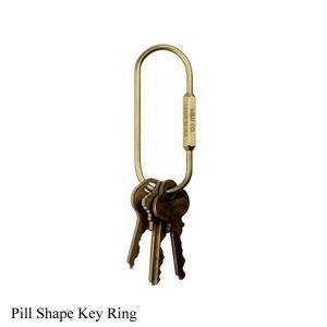 キーホルダー ピルシェイプキーリング  Pill Shape Key Ring M&U Co.  あすつく|bit