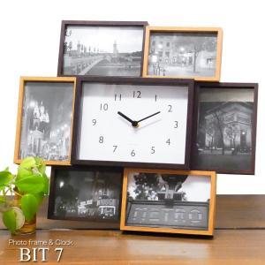 フォトフレーム & クロック ビットセブン Bit 7 Photo frame & Clock ビット7 あすつく|bit
