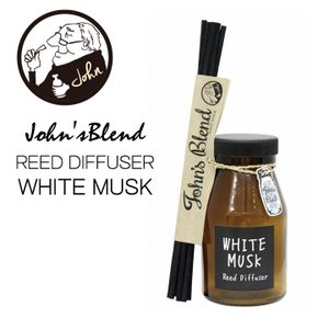 ジョンズブレンド リードディフューザー ホワイトムスク ノルコーポレーション John'sBlend Reed diffuser white musk 消臭&芳香  あすつく bit