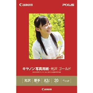 キヤノン写真用紙・光沢 ゴールド A3ノビ 20枚 GL-101A3N20|bita-ec