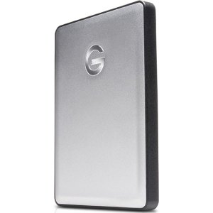 スタイリッシュなアルミニウム筐体:G-DRIVE mobileドライブは、持ち運びに適した、Macコ...
