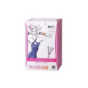 ウェットトラストゴールド 30本入り(CY): 婦人科医と共同開発したワンタッチ式潤滑ゼリー!
