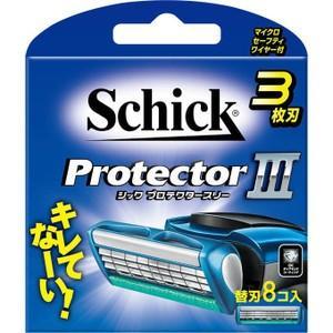 Schick プロテクター スリー 替刃 8個 Schick ProtectorIII  新品未開封...