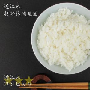 2020年産 米 お米 10kg 自然栽培米 コシヒカリ 滋賀県産 無農薬 無肥料 白米 玄米 杉野林間農園 送料無料 biwaoumi