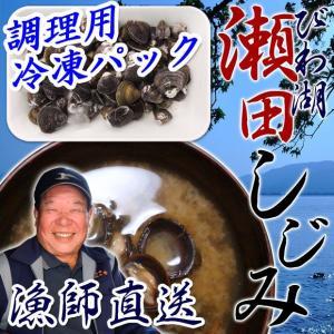 天然 瀬田しじみ 230g 冷凍 調理用 琵琶湖産 滋賀県産 魚友商店 送料無料|biwaoumi