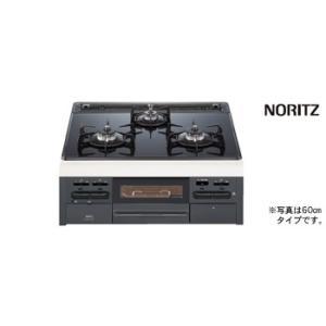 【N3WN6RWTS】 ノーリツ ビルトインコンロ ガスコンロ famiシリーズ 間口60cmタイプ ガラストップ ブラックフェイス яб∀ biy-japan