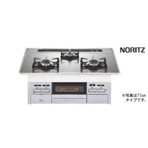 【N3WN7RWTSKSV】 ノーリツ ビルトインコンロ ガスコンロ famiシリーズ 間口75cmタイプ яб∀ biy-japan