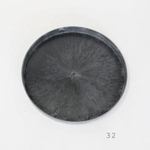 プラシャーレ32cm【サボテン/頑丈/おしゃれ/塊根植物/多肉/黒プラスチック鉢 】|biyori