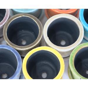 DULTON カラーグレーズポット Color Glazed Pot 4号 biyori