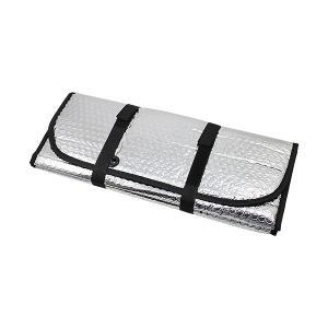 エアコン室外機用ワイドでしっかり遮熱エコパネル (約)奥行45×横110cm(ベルト除く) |biyouzairyo
