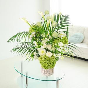 デザイナーズフラワーMサイズ A tall white|biz-hana