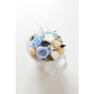 プリザーブドフラワー Egg Blue【送料無料!】|biz-hana