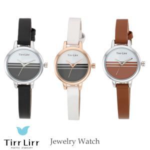 腕時計 時計 レディース 革ベルト 黒 白 茶 シルバー ピンク ゴールド TirrLirr ティルリル ギフト 韓国 ファッション 人気|bj-direct