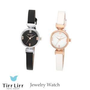 腕時計 時計 レディース 革ベルト 牛革 白 黒 シルバー TirrLirr ティルリル ギフト 韓国 ファッション クウォーツ bj-direct
