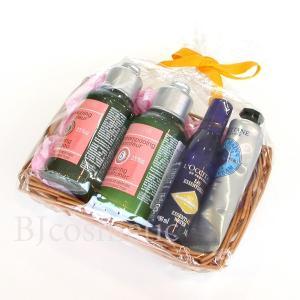 L'OCCITANE ロクシタン シャンプー コンディショナー ハンドクリーム 化粧水 ボディケア 4点セット ギフト|bjcosmetic