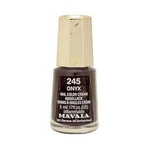 【36%OFF!!】MAVALA マヴァラ ネイルカラー プレシャスカラー <マニキュア> 245 オニキス 5ml|bjcosmetic