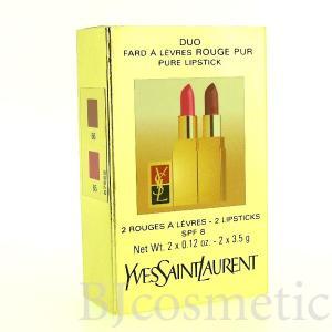 訳あり Yves Saint Laurent イヴ・サンローラン ルージュ ピュアリップスティック 2本セット ローズウッド#66  ローズマリス♯85 口紅 3.5g アウトレット|bjcosmetic