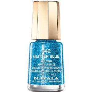 【25%OFF!!】MAVALA マヴァラ ネイルカラー 342 グリッター ブルー<マニキュア> 5ml|bjcosmetic
