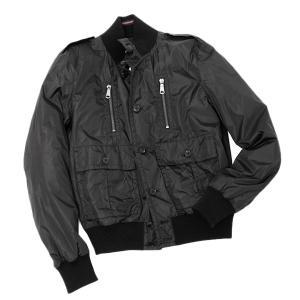 【サイズ52(XXL相当)】グッチ GUCCI ナイロン ブルゾン ジャケット ブラック [メンズ] 337333 Z9687 1000【SS2002】|bjkyoto