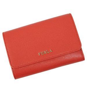 フルラ FURLA BABYLON 折財布 レッド PO72 B30 CARAMINIO 送料無料