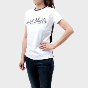 フレッドメロー Fred Mello コットン 半袖 ポロシャツ ホワイト×ネイビー [レディース] 9318 001 BIANCO BLUE ゆうメール便送料無料|bjkyoto