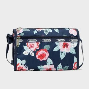 レスポートサック LeSportsac SMALL SHOULDER BAG スモール ショルダーバッグ NAVY ROSE 7133 D782|bjkyoto