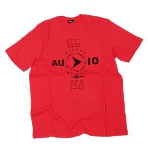 ディーゼル DIESEL T-JUST-Y2 コットン 半袖 Tシャツ レッド [メンズ] 00SSPP 0091A 42A|bjkyoto