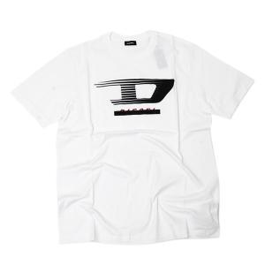ディーゼル DIESEL T-JUST-Y4 コットン 半袖 Tシャツ ホワイト [メンズ] 00SSPQ 0091A 100|bjkyoto