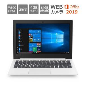 Lenovo ノートパソコン Ideapad S130 81J1009CJP 11.6型ワイド/ Windows 10/ Celeron /メモリ 4GB/ eMMC 64GB/ Office付き/ ブリザードホワイト 【展示品】|bjy-store