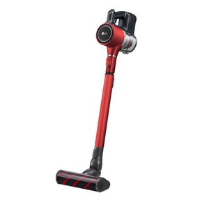 LG エレクトロニクス 掃除機 CordZero A9BED2X サイクロンスティッククリーナー バッテリー2個付属 最長80分  レッド 【新品】 bjy-store