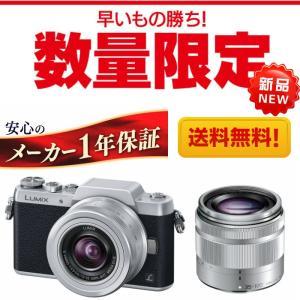【新品・送料無料】LUMIX DMC-GF7W-S ダブルズ...