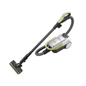 シャープ SHARP コードレスキャニスター紙パック式 掃除機 RACTIVE Air(ラクティブ エア)  EC-AP500-Y  イエロー系 【新品】 bjy-store